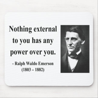 Emerson Quote 8b Mouse Pad