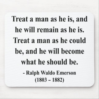 Emerson Quote 9a Mouse Pad