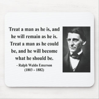 Emerson Quote 9b Mouse Pad