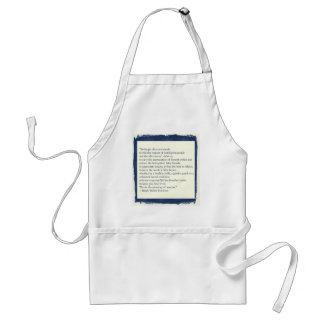Emerson Quote Adult Apron