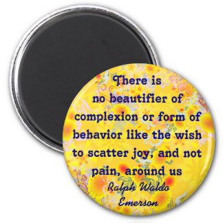 Emerson quote magnet