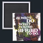"""Emerson Quote Magnet<br><div class=""""desc"""">An inspiring quote from Ralph Waldo Emerson on my original painted background.</div>"""