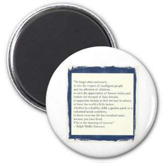Emerson Quote Refrigerator Magnet