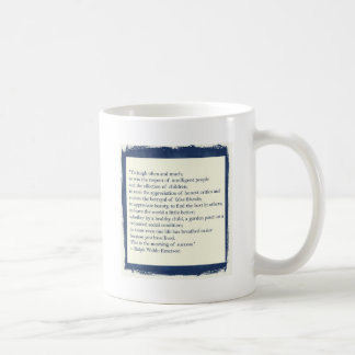 Emerson Quote Coffee Mugs