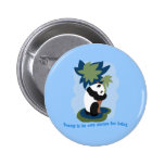 Emerson Quote with Endangered Panda Button