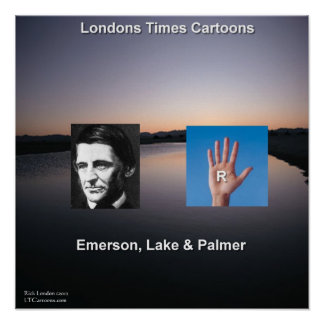 Emerson & The Lake Funny Poster