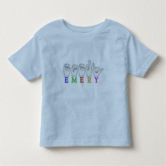 EMERY ASL FINGERSPELLED NAME SIGN TODDLER T-SHIRT