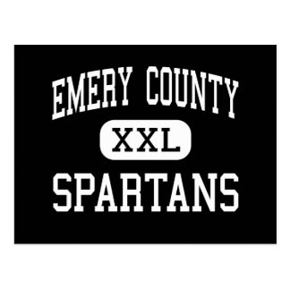 Emery County - Spartans - Senior - Castle Dale Post Card