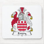 Emery Family Crest Mouse Pad