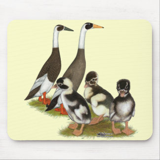 Emery Penciled Runner Duck Family Mouse Pad