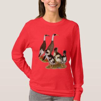 Emery Penciled Runner Duck Family T-Shirt