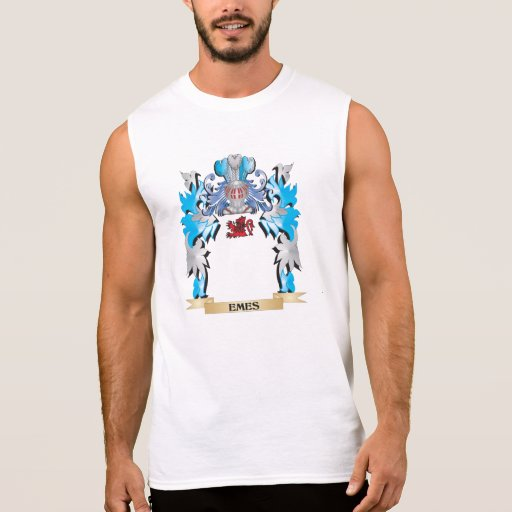 Emes Coat of Arms - Family Crest Sleeveless Tees Tank Tops, Tanktops Shirts