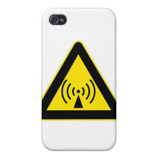 EMF WARNING COVER FOR iPhone 4