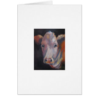 Emie Sue the cow Greeting Card