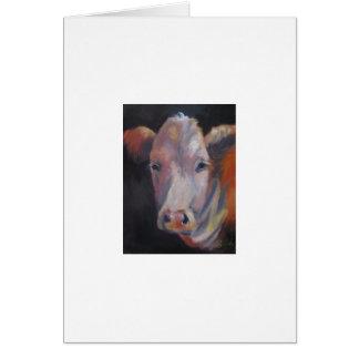 Emie Sue the cow Card