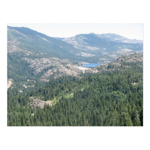 Emigrant Gap - Lake View Postcard