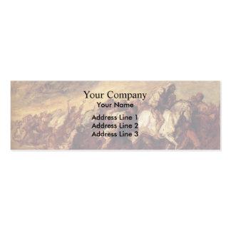 Emigrantes o fugitivos de Honore Daumier Tarjetas De Visita
