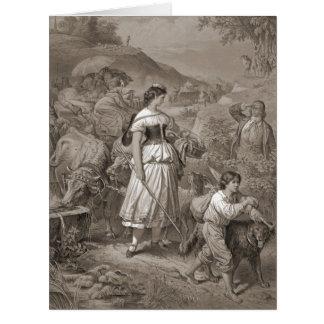 Emigrants 1882 card