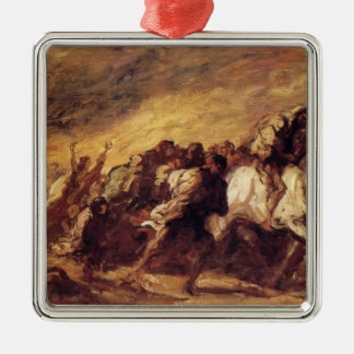 Emigrants or Fugitives by Honore Daumier Ornament
