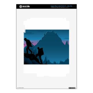 Emigrar diseño del viaje iPad 3 skins