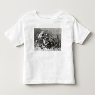 Emigration to the Western Country Toddler T-shirt