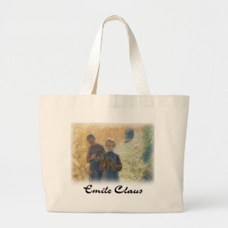 Emile Clause - Country Life (Detail) Large Tote Bag