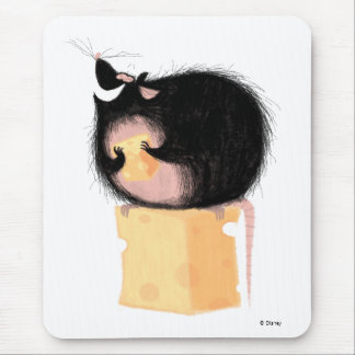 Emile Eating Cheese Disney Mouse Pad