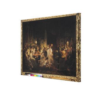 Emile Jean Horace Vernet Canvas Print