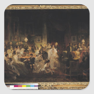 Emile Jean Horace Vernet Square Sticker