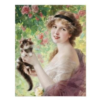 Emile Vernon Precious Kitten Invitations