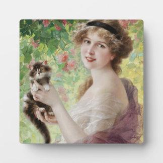 Emile Vernon Precious Kitten Plaque
