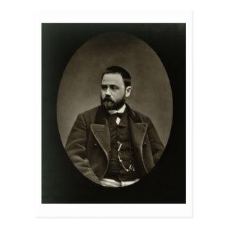 Emile Zola (1840-1902) de 'Galerie Contemporaine Tarjeta Postal