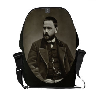 Emile Zola (1840-1902) from 'Galerie Contemporaine Courier Bag