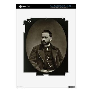 Emile Zola (1840-1902) from 'Galerie Contemporaine iPad 3 Skins