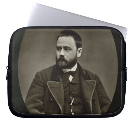 Emile Zola (1840-1902) from 'Galerie Contemporaine Computer Sleeves
