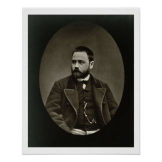 Emile Zola (1840-1902) from 'Galerie Contemporaine Poster