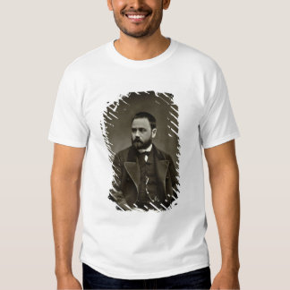 Emile Zola (1840-1902) from 'Galerie Contemporaine Shirt