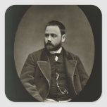 Emile Zola (1840-1902) from 'Galerie Contemporaine Sticker