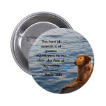 Emile Zola Animal Rights Quote, Saying Pinback Buttons