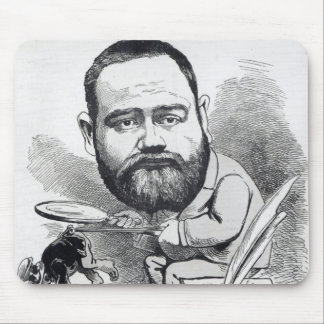 Emile Zola as a naturalist, from 'L'Eclipse' Mouse Pad