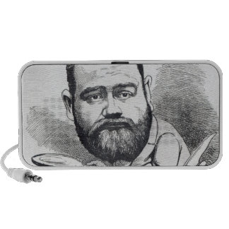 Emile Zola as a naturalist, from 'L'Eclipse' Laptop Speakers