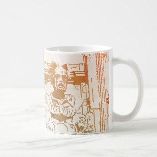 Émile Zola Memorial Watercolor Coffee Mug
