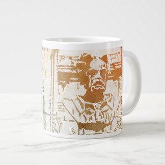Émile Zola Memorial Watercolor Large Coffee Mug