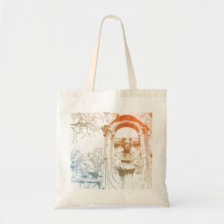 Émile Zola Memorial Watercolor Tote Bag
