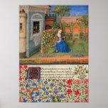 Emilia en la iluminación medieval de Rosegarden Impresiones