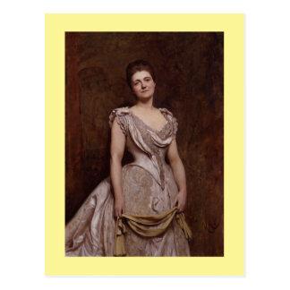 Emilia Francis (born strong) Postcard