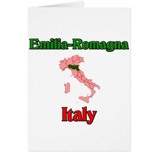 Emilia Romagna Italy Card