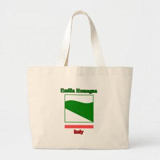 Emilia Romagna Italy Large Tote Bag