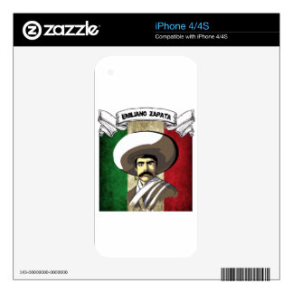 emiliano decal for the iPhone 4