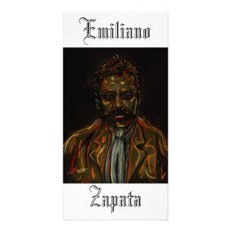 Emiliano Zapata Portrait Photo Card
